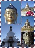 不丹, 錫金,孟加拉Bhutan, Sikkim and Bangladesh:鑽石大佛
